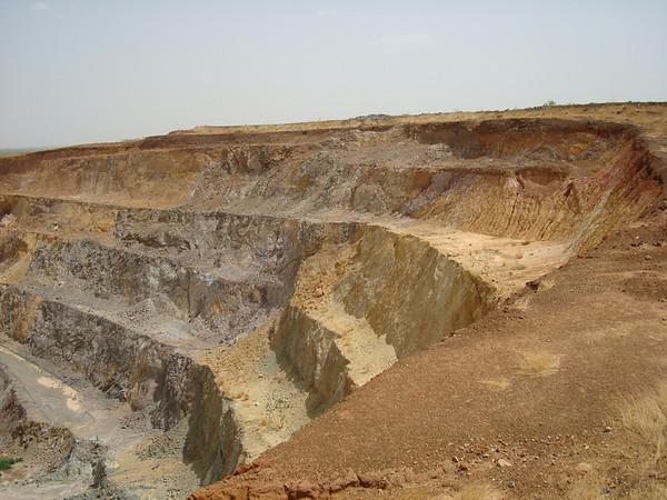 Visit to Taparko Mine on June 4, 2010